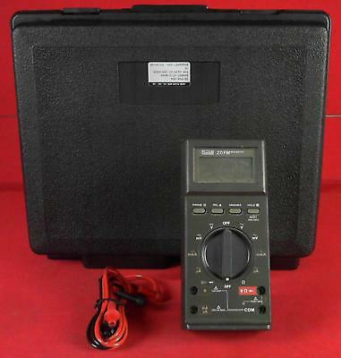 Fluke Dmm - 27fm With Leads And Case Dmm Digital Multimeter
