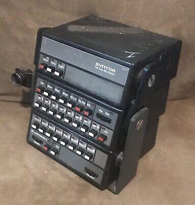 Vintage Motorola Syntor Radio Control Head Stack Of 3 Control Heads