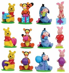 official disney winnie the pooh resin cake toppers figurines rezin disney figure ebay. Black Bedroom Furniture Sets. Home Design Ideas