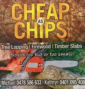 Cheap as chips treelopping and FIREWOOD North Maclean Logan Area Preview