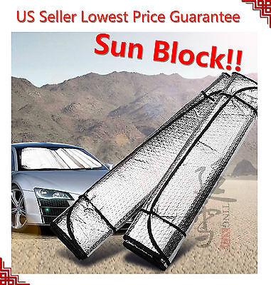Auto Car Sun Shade Foldable Sun Visor for Front Wind Shield Windows (Windshield Visors For Cars)
