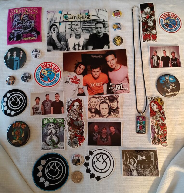 Blink 182 Rock Band Collectibles