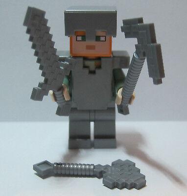 LEGO Minecraft 21123 Alex mit Eisenrüstung (Figur) unbespielt  ()
