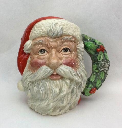 Rare Royal Doulton Santa Claus Limited Edition Oversize Toby Mug MINT