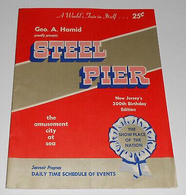 1920s Diving Horse Carver Show 18x24 Atlantic City Steel Pier Poster