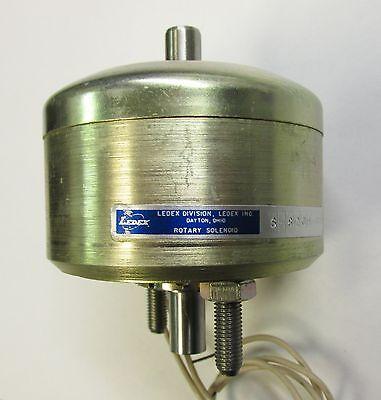Ledex S-8209-025 24vdc Continuous Duty 25 Degree Rotary Solenoid