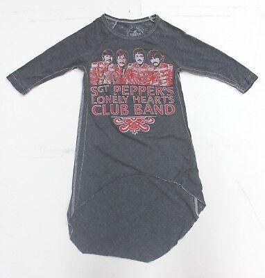 New Authentic Trunk Ltd. Youth Girls Beatles Hi-Lo Burnout t-shirt Sizes 2-12 - Girls Trunk