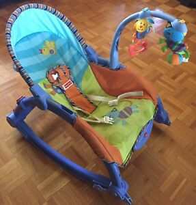 Chaise vibrante multi-positions Fisher price
