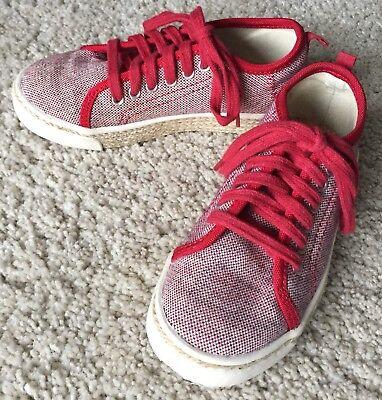 ZARA Sneaker Schuhe für Kinder in rot/beige Gr. 29, top Zustand