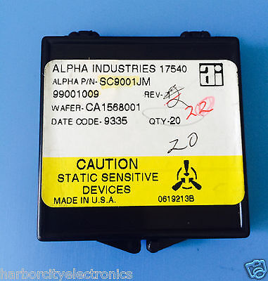 Sc9001jm Alpha Industries Capacitor Chip Rf Microwave Product 20units Total