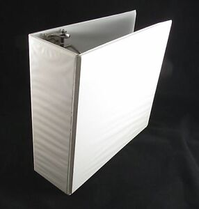 Lot of 10 new 4 inch white d ring view binders