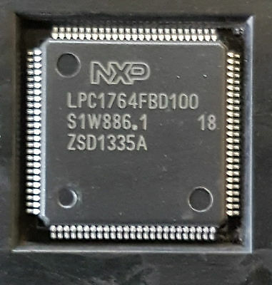 Nxp Semiconductors Lpc1764fbd100  Lot Of 4 Pieces