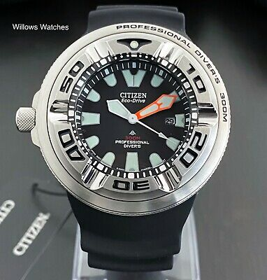 Citizen Promaster Ecozilla Mens 300M Professional Divers Watch BJ8050-08E New