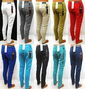 Mens-IMPERIOUS-fashion-skinny-pants-white-grey-sand-mustard-style-TPS02