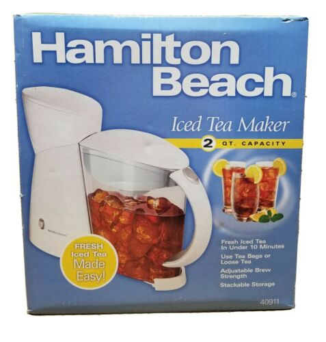 Hamilton Beach Iced Tea Maker 2 Qt. Capacity 40911 New