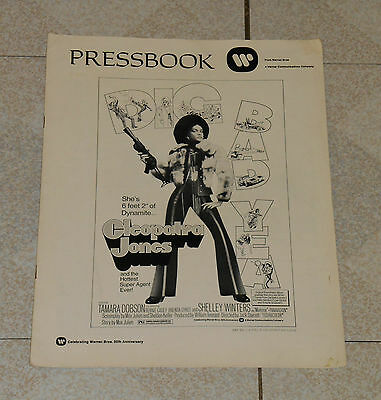 original CLEOPATRA JONES pressbook Tamara Dobson Bernie Casey Shelley Winters