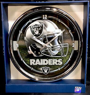 NFL Las Vegas Raiders Chrome Wincraft Wall -