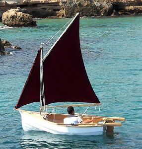 Free plywood dinghy boat plans build