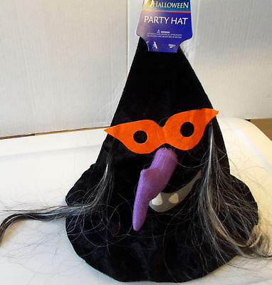 Child Witch Hat (Black Witch Hat Witch Face Child 11