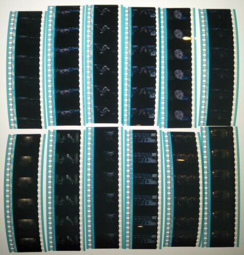 Harry Potter & The Deathly Hallows 1 60 x 35mm Genuine Film Cells 12 x Strips D