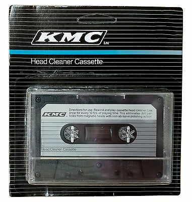 NEW AUDIO TAPE DRY HEAD CLEANER KIT DECK HOME CAR CASSETTE P