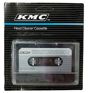 NEW AUDIO TAPE DRY HEAD CLEANER KIT DECK HOME CAR CASSETTE PLAYER