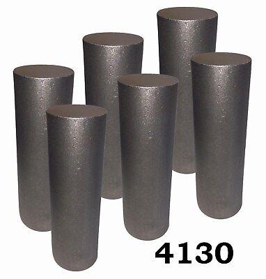 2.25 Round 4130 Steel Alloy Rolled Bars Billets 6 7-8 Lengths Hl