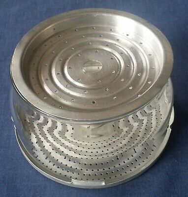 Pyrex 6 Cup Coffee Pot Replacement Glass Basket with Spreader & Strainer