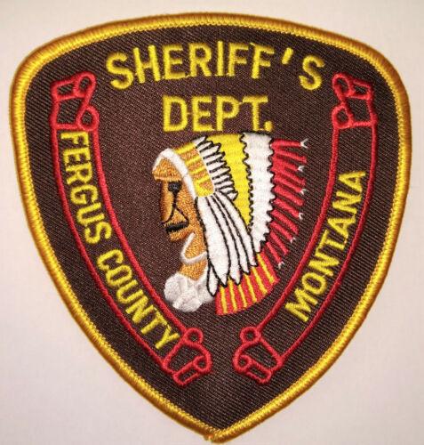 Fergus County Montana Sheriff