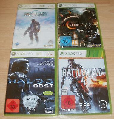 Xbox 360 - Spiele Sammlung USK 16 -18 - Battlefield, Halo, Lost Planet