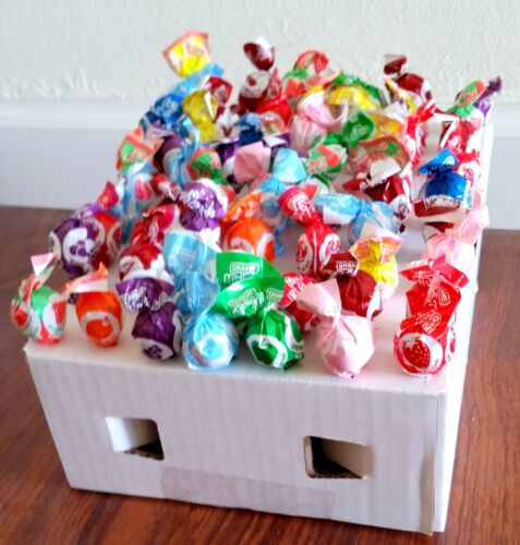 50 New Lollipop Inserts for Honor Boxes Vending Route Candy Laminated Holder Lid