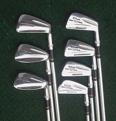 Vintage Wilson Staff Model DYNAPOWER Bullet Back Irons 3 Thru PW No 9 Nice 1969 for sale  Marysville