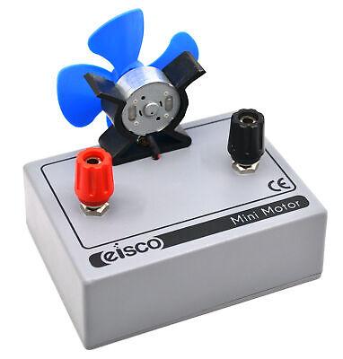 Energy Transfer Apparatus - Malvern Mounted Motor For Solar Cell - Eisco Labs