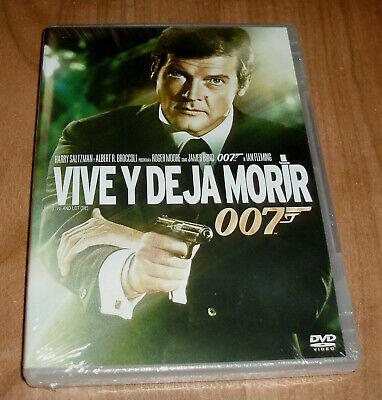 VIVE Y DEJA MORIR JAMES BOND 007 DVD NUEVO ACCION AVENTURAS (SIN...