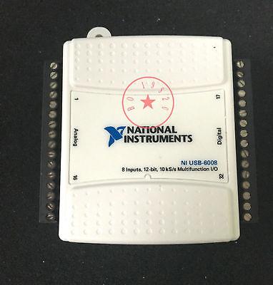 Usb-6008 National Instruments Usb Data Acquisition Card Daq 779051-01 Multi