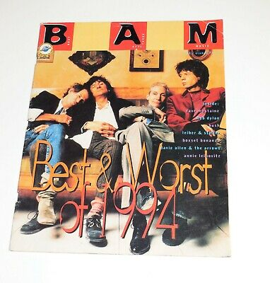 BAM Magazine December 16, 1994~Rolling Stones Cover~Best & Worst of