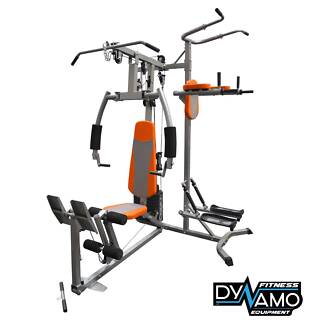 HOME GYM FOLDING LEG PRESS PULL UP TOWER Heavy Weight Stack NEW