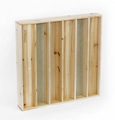 SORIGIO Hybrid Wood Diffuser Panel Powerful Sound Acoustic Solution