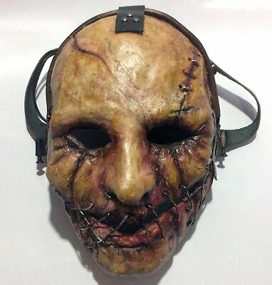 Custom Cosplay Airsoft Paintball BB Gun Full Face Mask Halloween Protect Gear