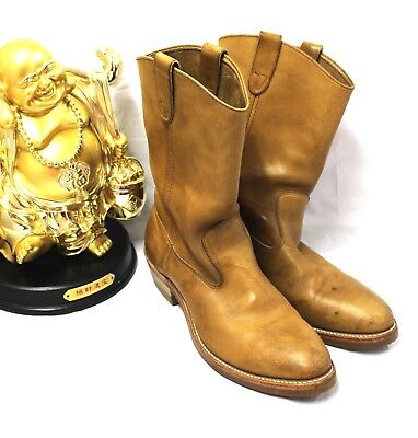 HH Double-H Men 10D Work Leather Boots Cowboy Oil Resistant Rodeo Western Ranch