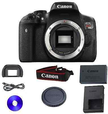 Canon EOS Rebel T6i DSLR Camera Body Only Starter Kit