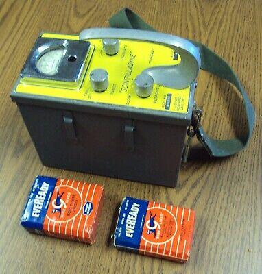 Vintage Fisher Scintilladyne Geiger Counter Palo Alto