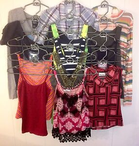 Women's Small 15 Assorted Tops Lot #45