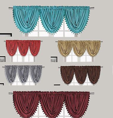 New Luxury Waterfall Decorative Trim Window Valance  (55