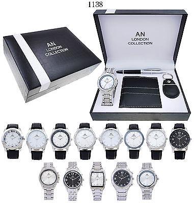5 x Wholesale Joblot of Men's Gift Sets. Job lot of men Gift Watch Sets -5 Sets