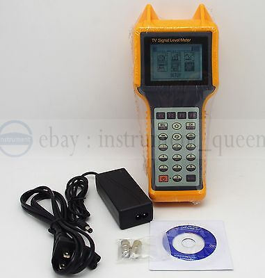 RY-S200 TV Digital Signal Level Meter CATV Cable Testing 46-870MHZ MER BER for sale  Shipping to Canada
