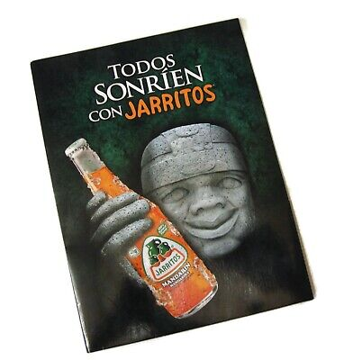 Jarritos Twin Pocket Laminated Promotional Collectible Glossy Folder