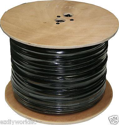 Bulk RG59 +Power Siamese CCTV Cable 1000 ft. Spool