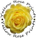 Yellow Rose Prints