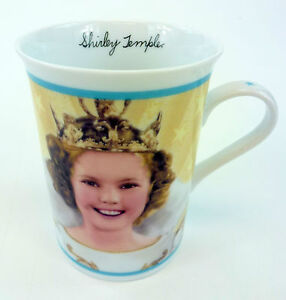 Little-Princess-Shirley-Temple-Coffee-Mug-Cup-Porcelain-Collector-Danbury-Mint